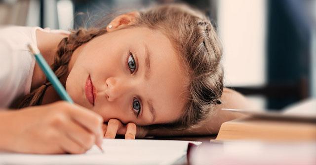 הילד מגלה קשיים בלמידה